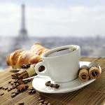 Frühstück in Paris